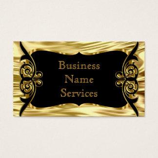 Modern Stylish Business Deco Gold Black