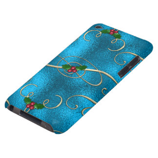 Modern & Stylish Christmas Swirls iPod Case-Mate Case