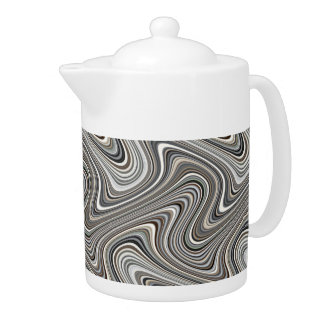 Modern Stylish Curvy Abstract Pattern
