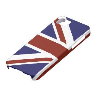 Modern stylish half Union Jack design iPhone 5 Cases