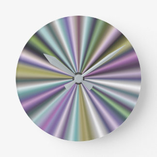 Modern Stylish Multicolor Round Clock