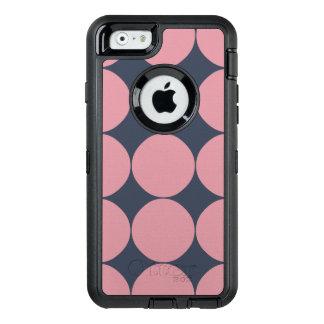 Modern Stylish Pink Polka Dot OtterBox iPhone 6/6s Case