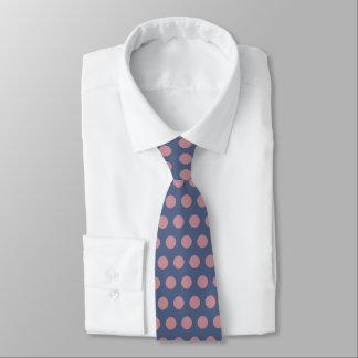 Modern Stylish Pink Polka Dot Tie