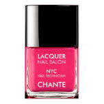 Modern stylish trendy neon pink nail polish chic pack of standard business cards