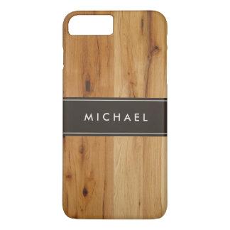 Modern Stylish Wood Grain Look iPhone 7 Plus Case