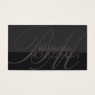 Modern stylist fashion designer Business Card