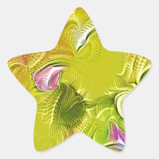 modern summer (I) Star Sticker