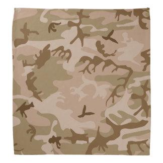 Modern Tan Green Desert Military Camo Camouflage Bandana