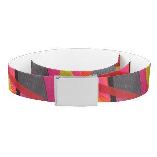 Modern Tape Art Neon Belt