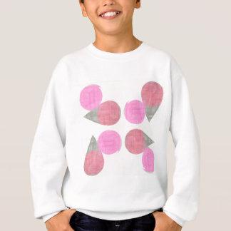 Modern Teardrop Pattern Sweatshirt