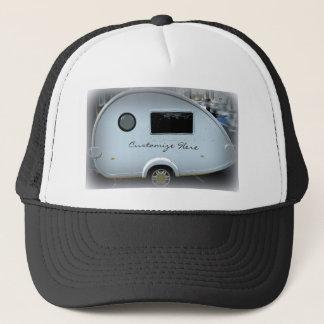 Modern teardrop trailer  gypsy caravan trucker hat