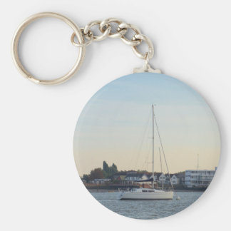 Modern Thirty Foot Yacht Key Chains