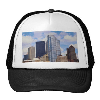 Modern titans of Pittsburgh, Pennsylvania, U.S.A. Trucker Hat