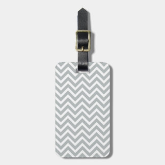 modern trend grey chevron tag for bags