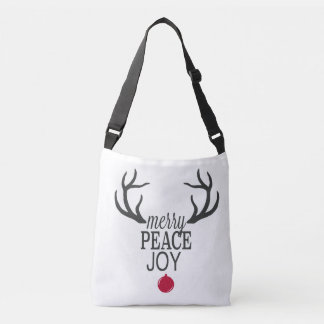 Modern trends Christmas reindeer Crossbody Bag