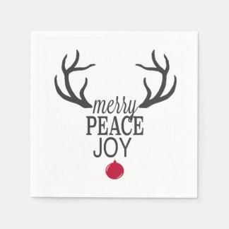 Modern trends Christmas reindeer Paper Napkin
