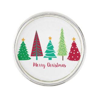 Modern trends Christmas Trees Lapel Pin