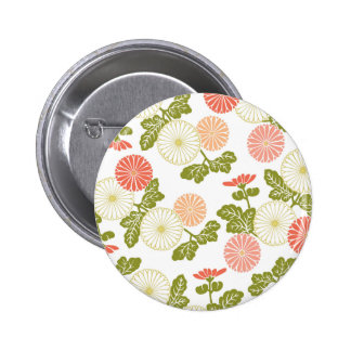 modern trends coral floral pin