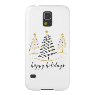 Modern Trends Holiday Trees Cases For Galaxy S5