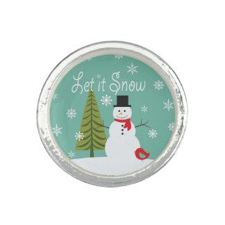 modern trends winter snowman