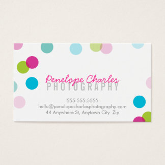 MODERN trendy bright bold fun colorful confetti