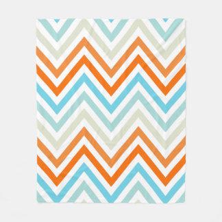 Modern Trendy Chevron Pattern Gifts Fleece Blanket