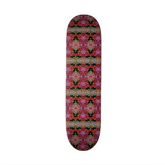 Modern trendy decorative pattern skateboard deck
