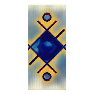 modern,trendy,fractal,symbolist,art,polygamel,chic full color rack card