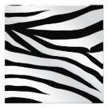 Modern Trendy Zebra Stripes Pattern Art Photo