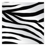 Modern Trendy Zebra Stripes Pattern Photographic Print