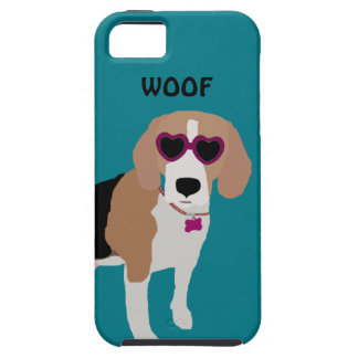 Modern tri-color beagle dog iPhone 5 covers