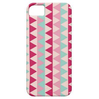 Modern tribal geometric pattern triangle print iPhone 5 cases