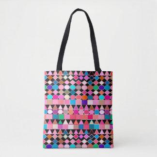 Modern Tribal Geometric, Tote Bag
