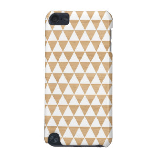 Modern tribal wood geometric chic andes pattern iPod touch (5th generation) cover