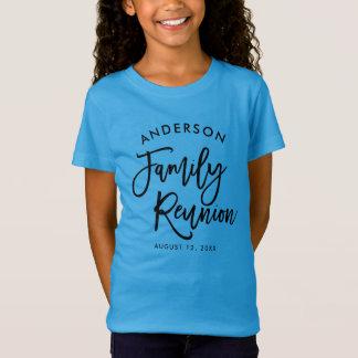 Modern Typography Family Reunion T-Shirt