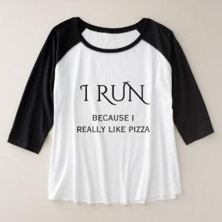 Modern Typography Plus Size Women's Raglan Plus Size Raglan T-Shirt