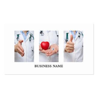 Modern Unique Medical Doctor Pack Of Standard Business Cards