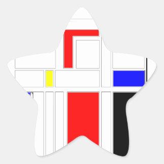 Modern Vibe 2 Star Sticker