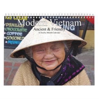 Modern Vietnam Ancient and Friendly Calendar