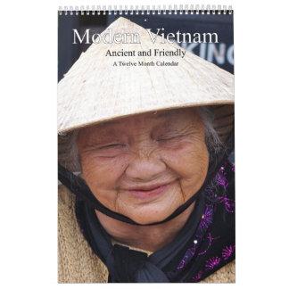 Modern Vietnam Ancient and Friendly Calendars