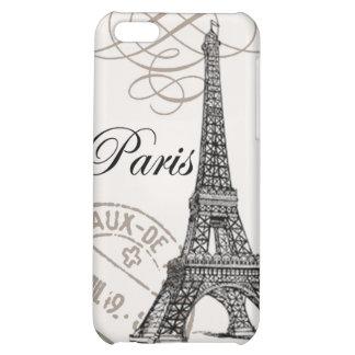 modern vintage Eiffel Tower iPhone 5C Case