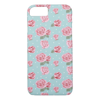 Modern Vintage Elegant Rose iPhone 8/7 Case