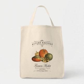 modern vintage fall gourds and pumpkin