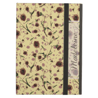 Modern Vintage Floral Classic iPad Case