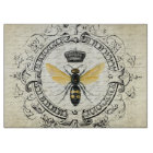 Modern vintage french queen bee cutting board