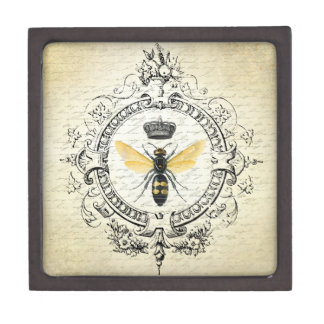 Modern vintage french queen bee premium gift box