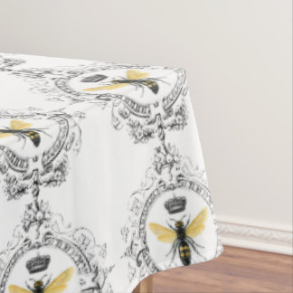 MODERN VINTAGE french queen bee Tablecloth