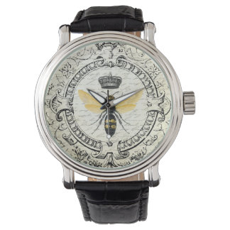 Modern vintage french queen bee wristwatches