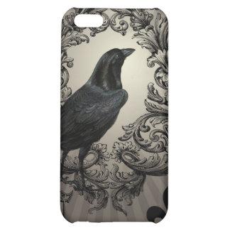 modern vintage halloween crow iPhone 5C covers