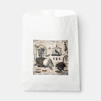 Modern Vintage Halloween Garden Favour Bag
